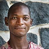 Cote d'Ivoire - Dan translation team, Pasteur Oulai Joseph exegete (white shirt)